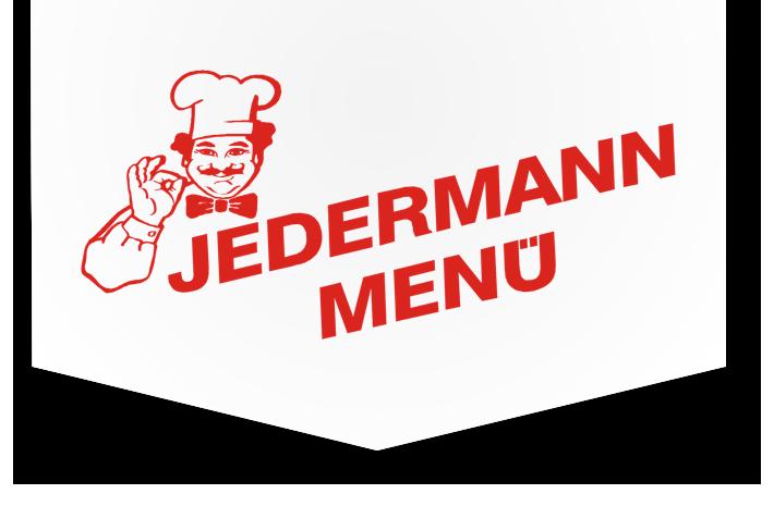 Jedermann Menü Logo